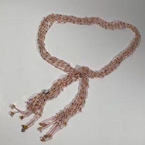 Beaded women's waist belt